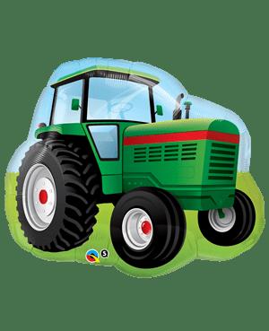 Globo-metalizado-tractor