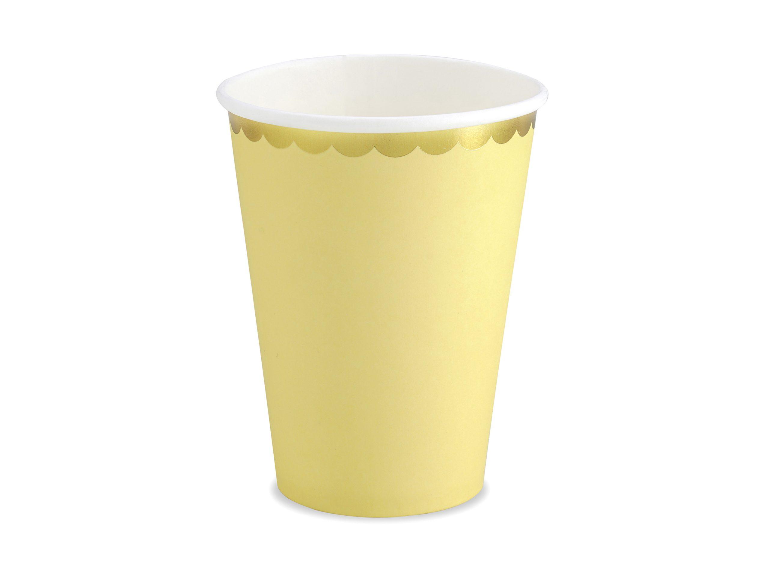 Vaso amarillo