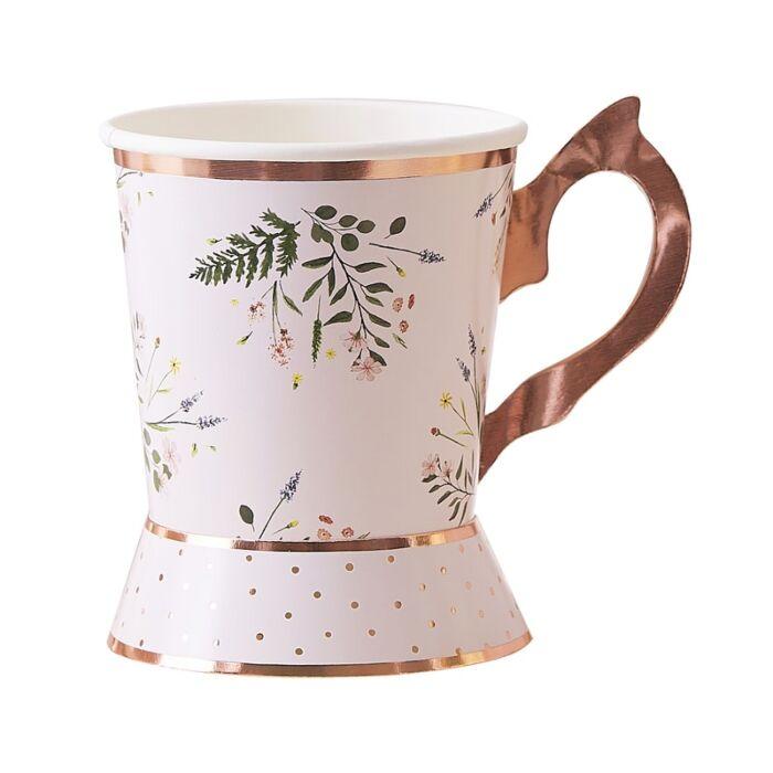 vasos fiesta del té