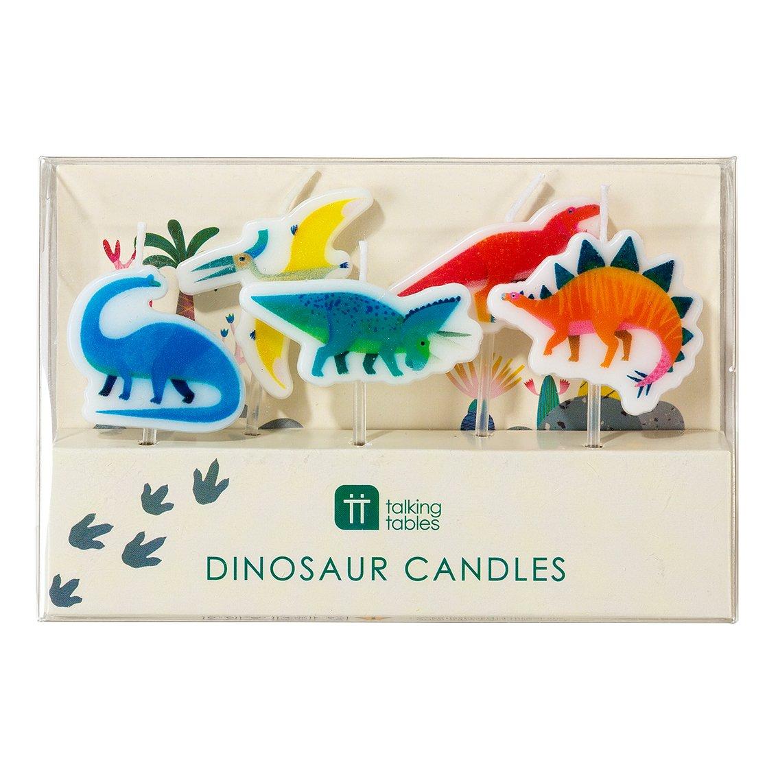 velas Dinosaurio caja