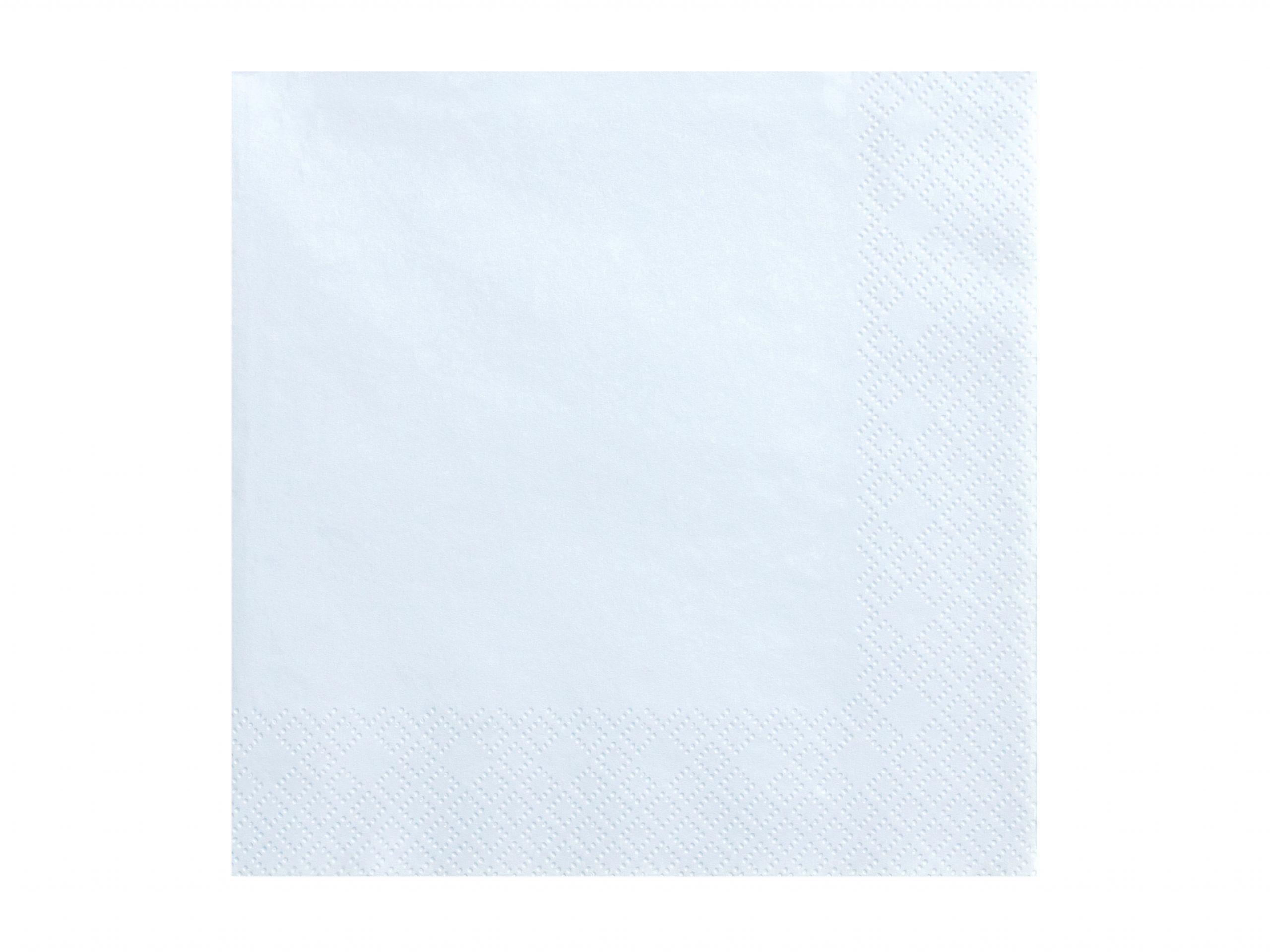 Servilleta azul claro