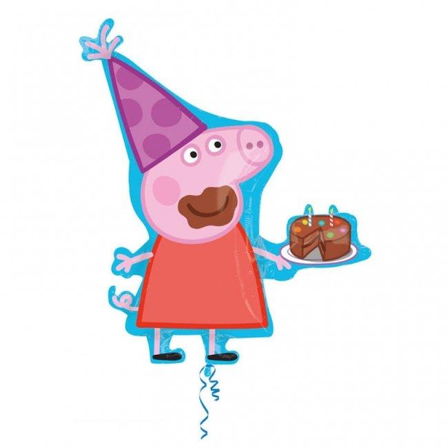 Globo Peppa Cumpleaños