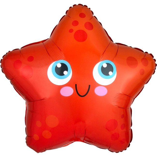 Globo metalizadao estrella de mar