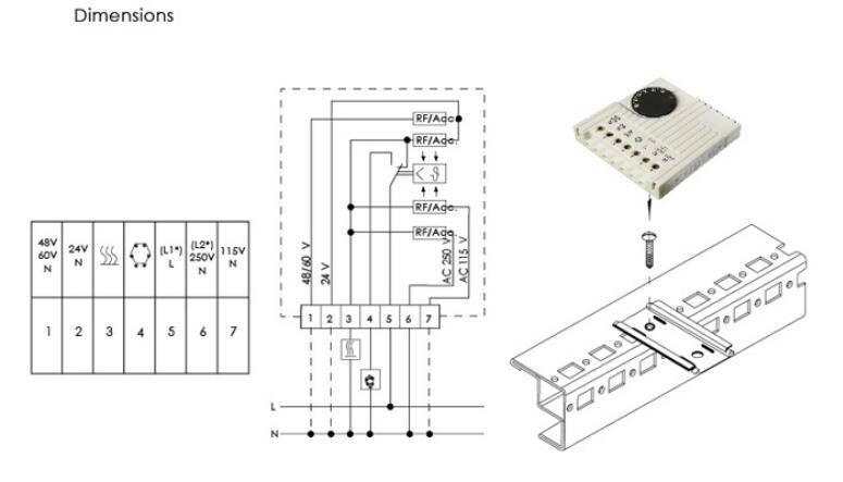 JWT6011 Adjustable Thermostat