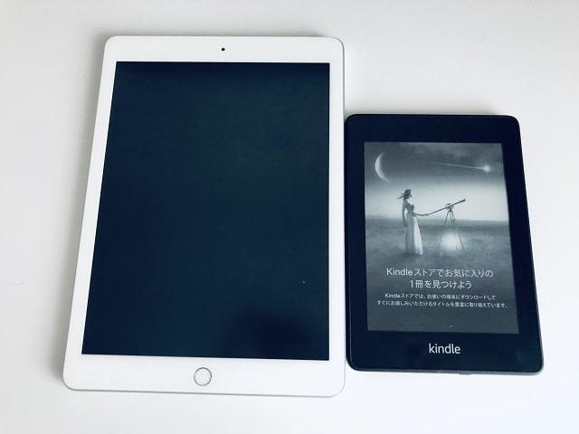 "alt""iPadとKindle端末の比較"""