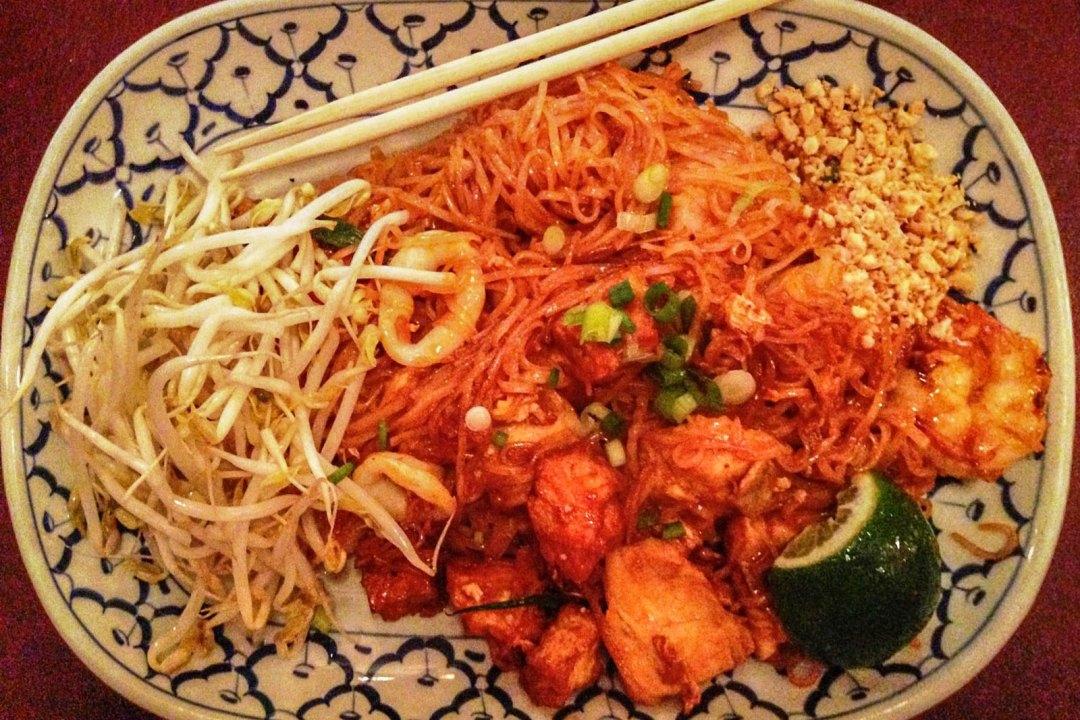 Seafood Pad Thai at Joy Thai Williamsport