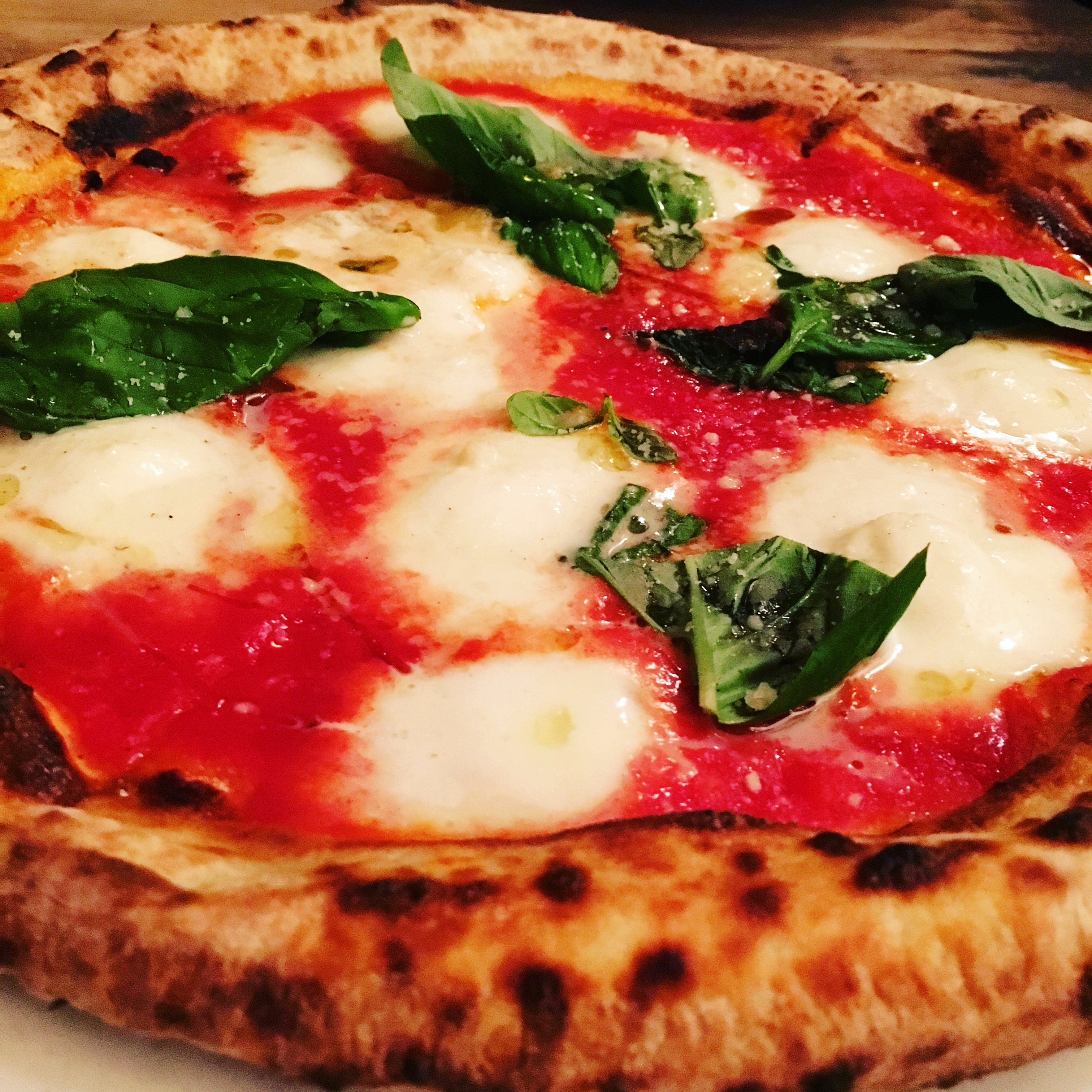 Margherita Pizza At Fornino In Williamsburg Brooklyn 12 26 2015 I May Roam