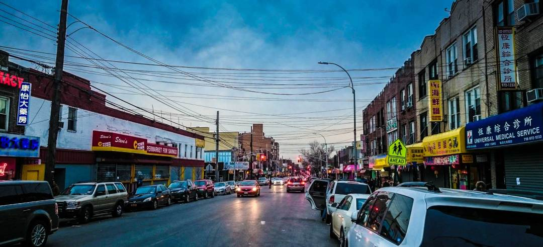 8th Avenue Chinatown in Sunset Park Brooklyn