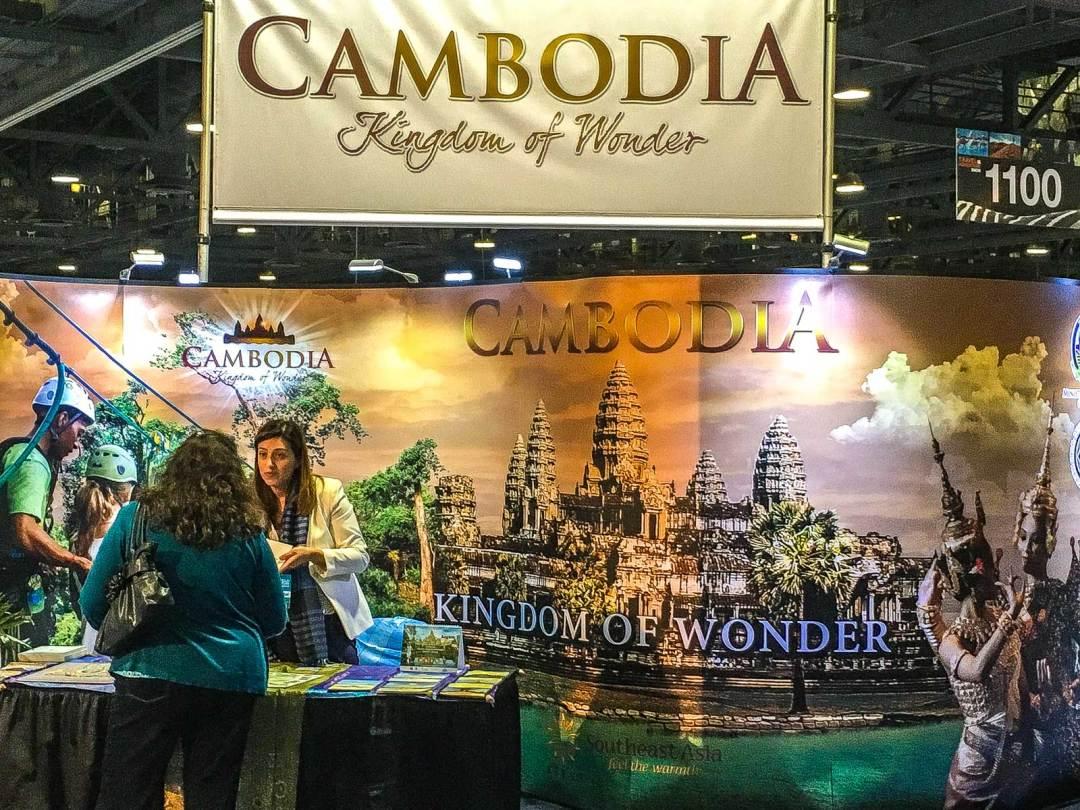 Cambodia booth