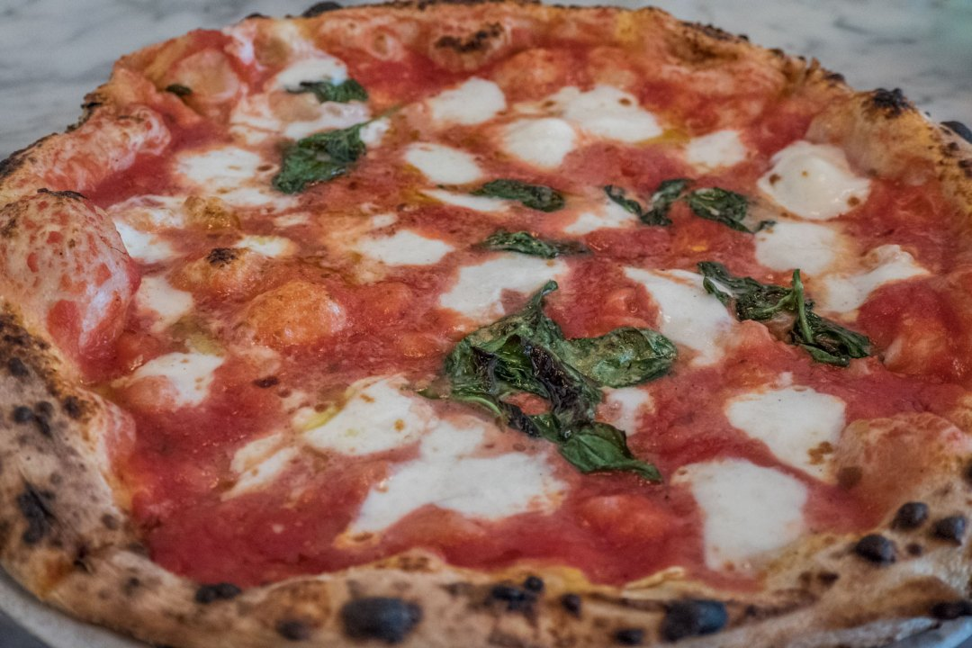 Margherita Pizza at Motorino East Village