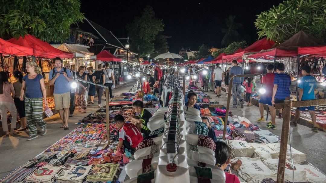 Night Market Luang Prabang Laos