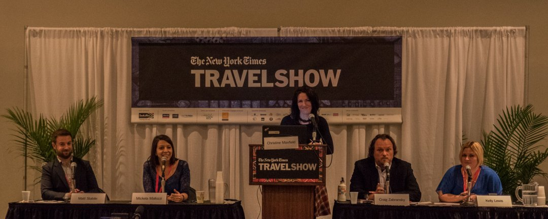 Mickela Mallozzi Christine Maxfield Kelly Lewis Craig Zabransky Matt Stabile Top Places to Travel Alone in 2017 New York Times Travel Show