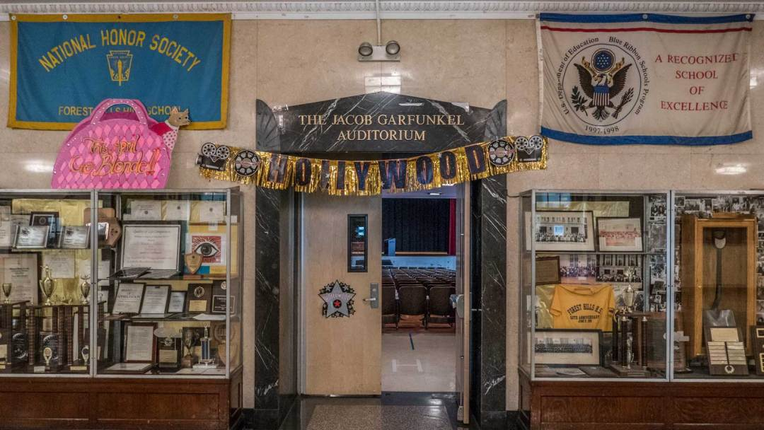 Forest Hills High School Jacob Garfunkel Auditorium