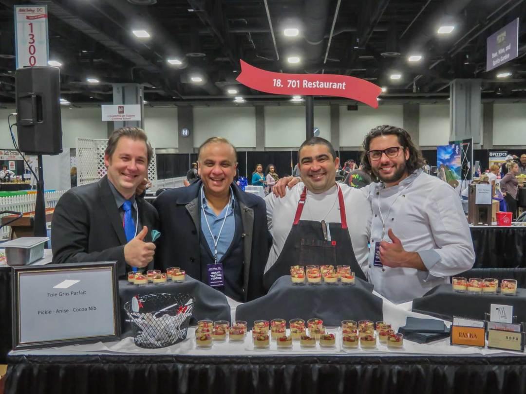 701 Restaurant at MetroCooking DC 2017 Walter E Washington Convention Center
