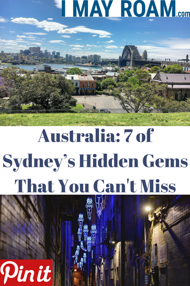 Pinterest Sydney's hidden gems that you can't miss