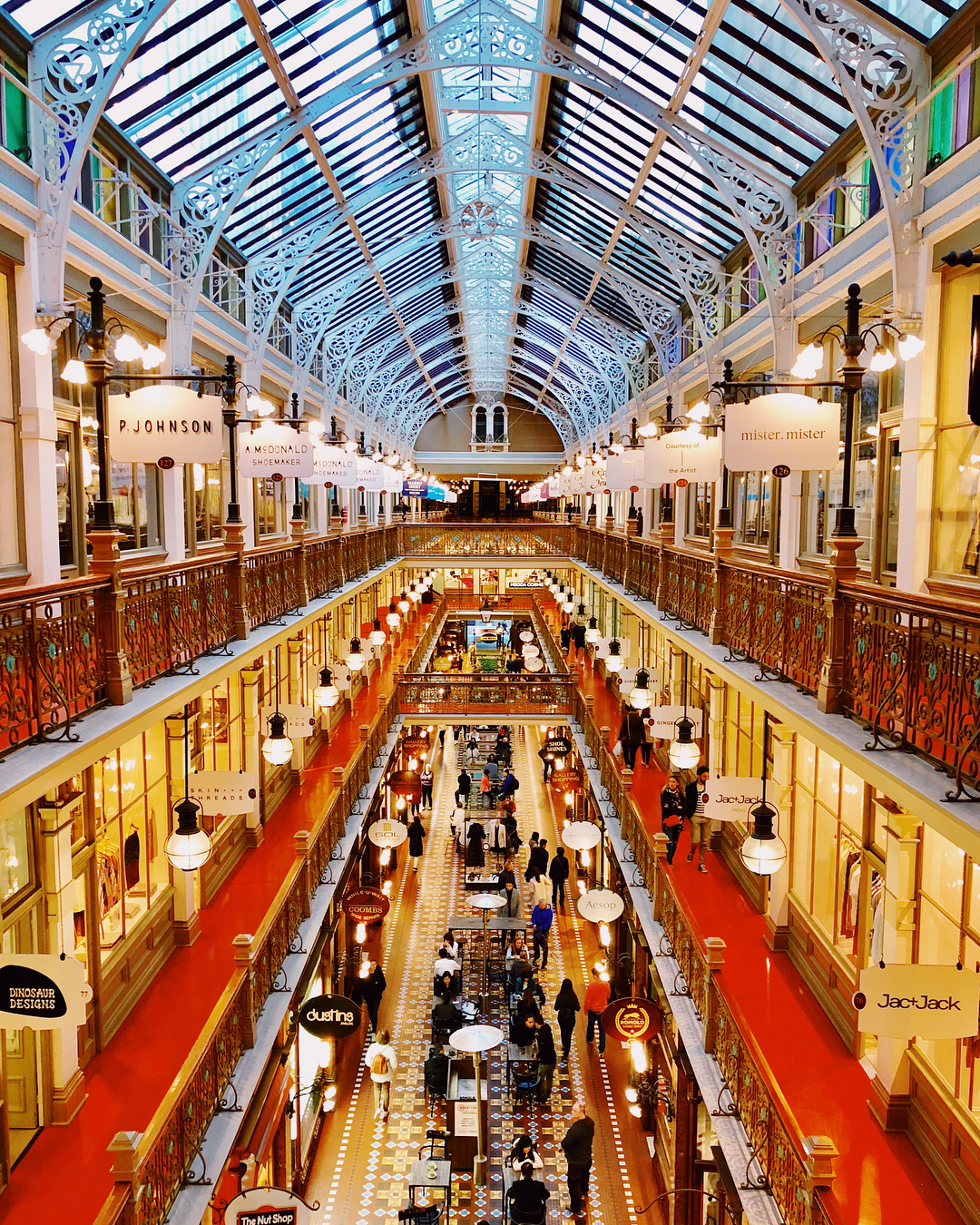 Sydney's Hidden Gems Strand Arcade Sydney