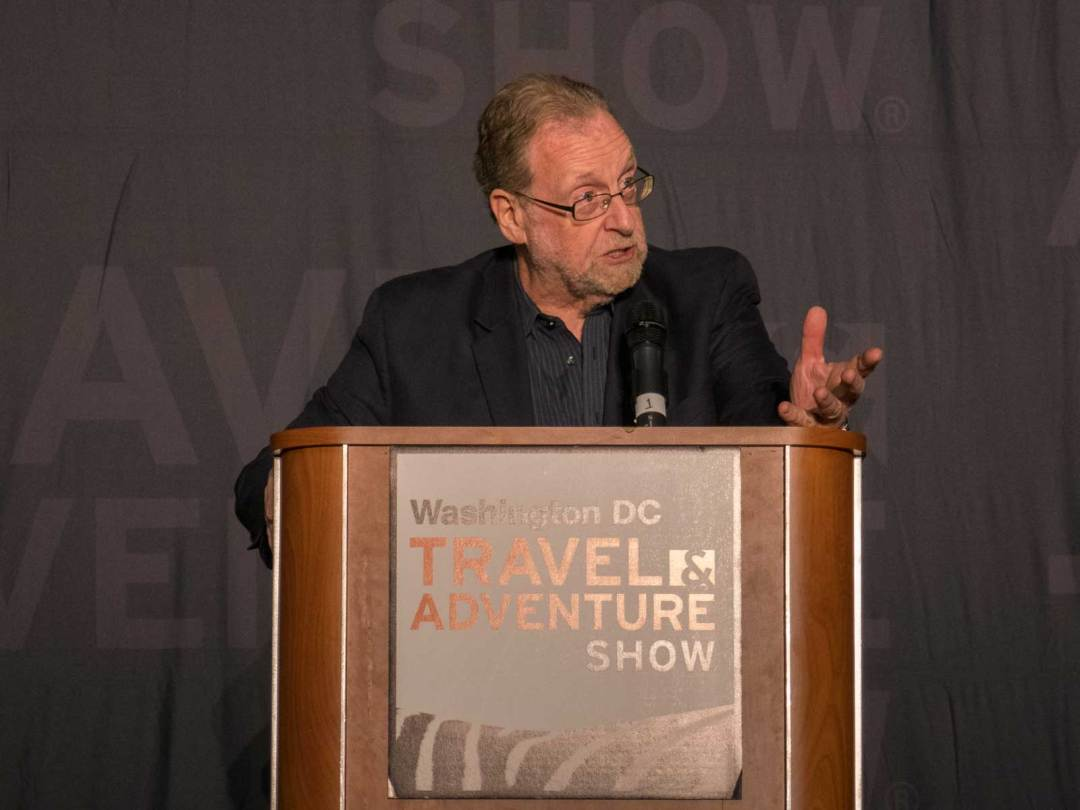 Peter Greenberg at the 2018 DC Travel & Adventure Show