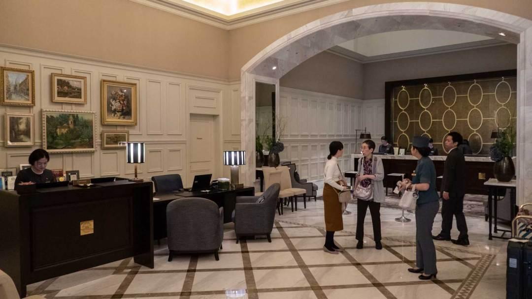 Tokyo Station Hotel Lobby