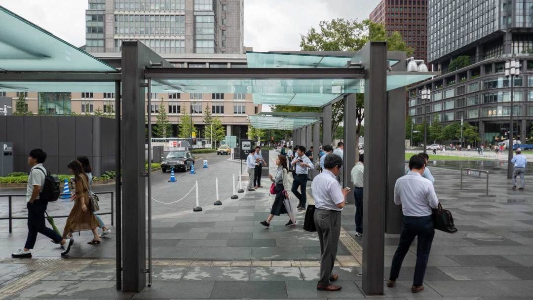 Tokyo Station Hotel bus stop