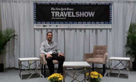 My Meet the Experts session at the 2020 New York Times Travel Show