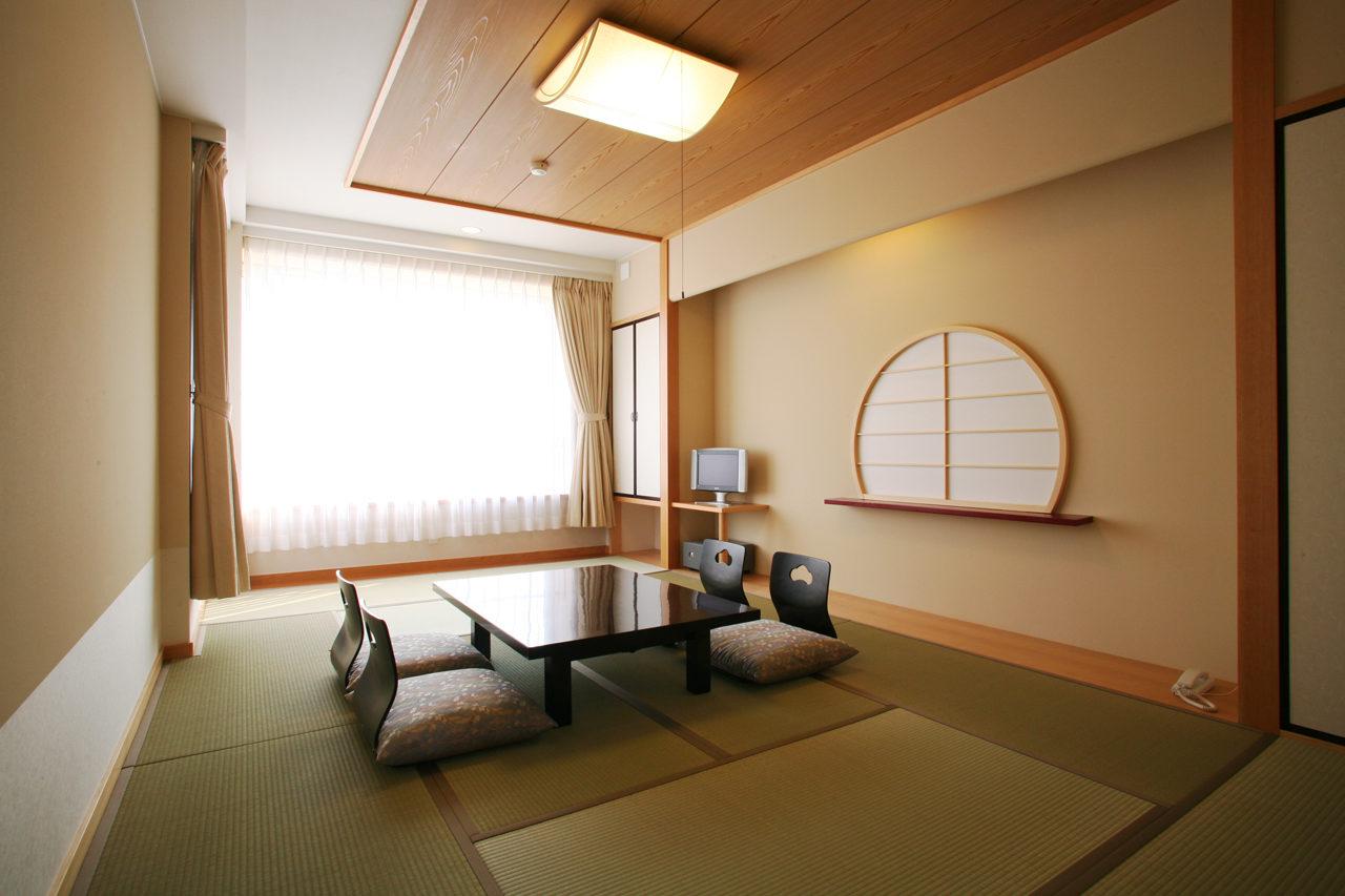 民宿・旅館の設計デザインをした日間賀島の癒しの宿風車の個室01