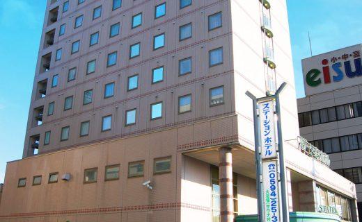 駅近くの立地を活かしたビジネスホテルの設計・デザイン|ステーションホテル桑名