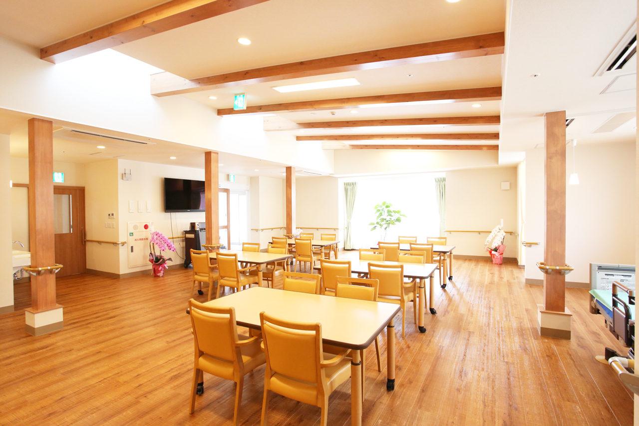 デイサービス併設住宅型有料老人ホーム|リアン一宮牛野通の新築設計・デザイン|愛知県一宮市