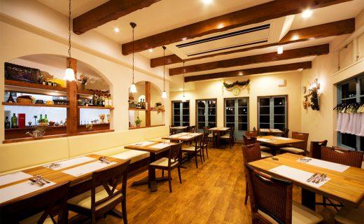 フランスの食堂ルボントン|フランス料理店の新築設計、デザイン、新規独立オープン支援