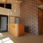 女性治療家の癒しのかわいい治療院の新築設計、店舗デザイン