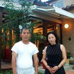 岐阜県岐阜市で新築設計、店舗デザインをさせていただいた店舗併用住宅WITのオーナーご夫婦