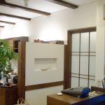 美容室併用注文住宅の受付カウンター|岐阜県岐阜市で新築設計、店舗デザインをさせていただいた美容室WIT