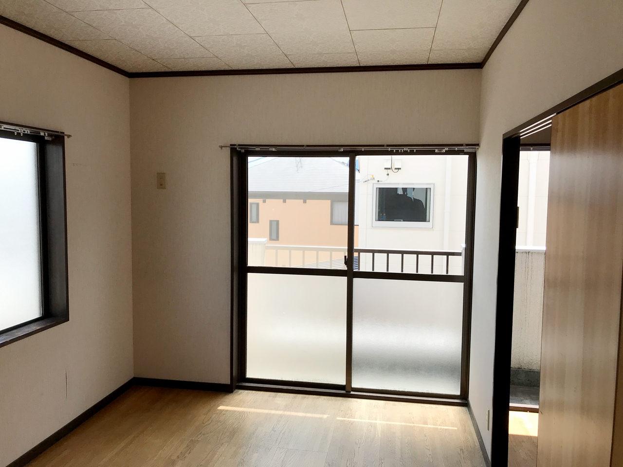 賃貸住宅の改装、リノベーション設計、デザインの既設2階個室01