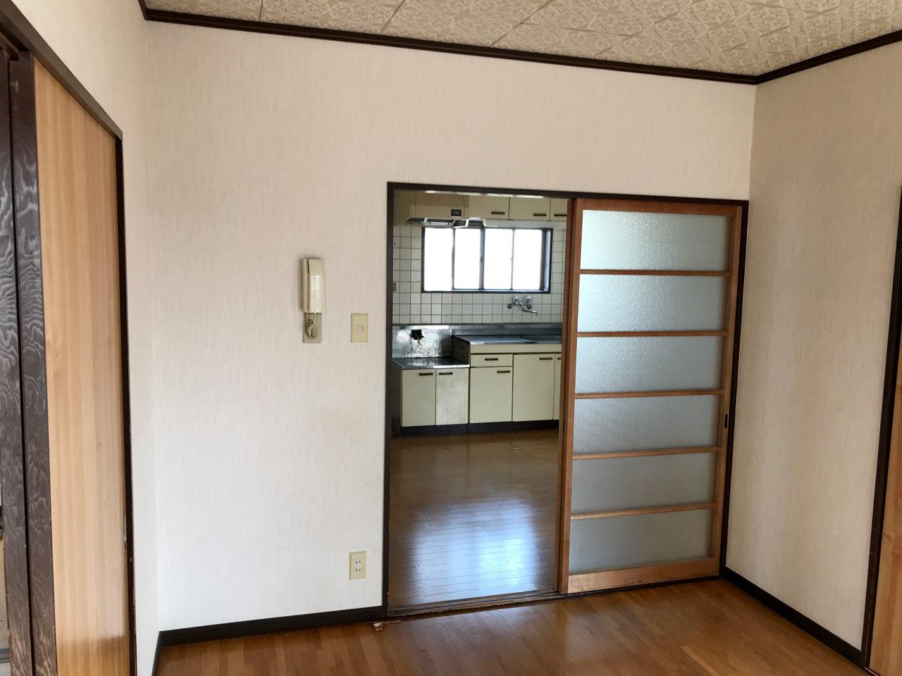 空き家を賃貸マンションへリノベーション改装設計、デザインの既設2階個室02