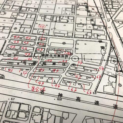 設計した喫茶店の建築許可申請調査