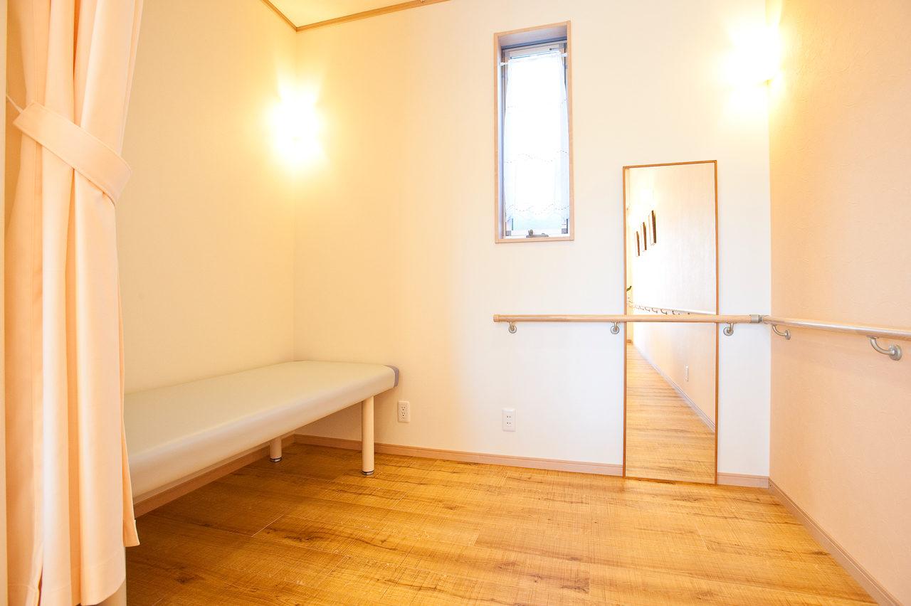 設計、開業支援したリハビリデイサービスの静養室