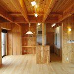 家事スペースのあるLDKの新築設計