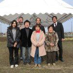 新築設計した治療院付き住宅の地鎮祭|愛知県江南市(市街化調整区域)