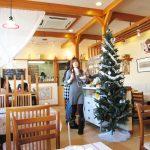 店舗デザインしたイタリア料理店のクリスマス|愛知県春日町