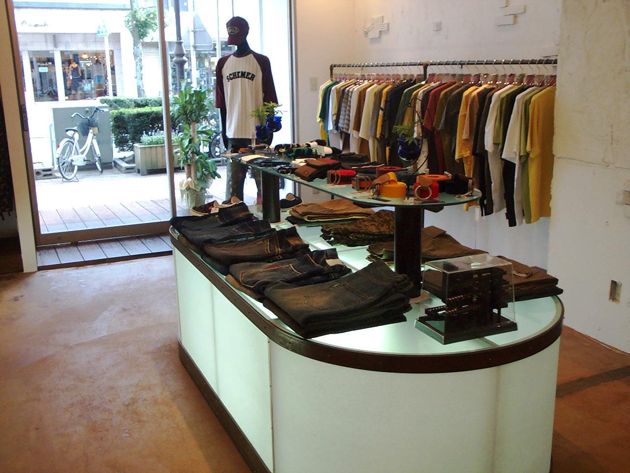 アクササリーセレクトショップの店舗改装デザイン、設計