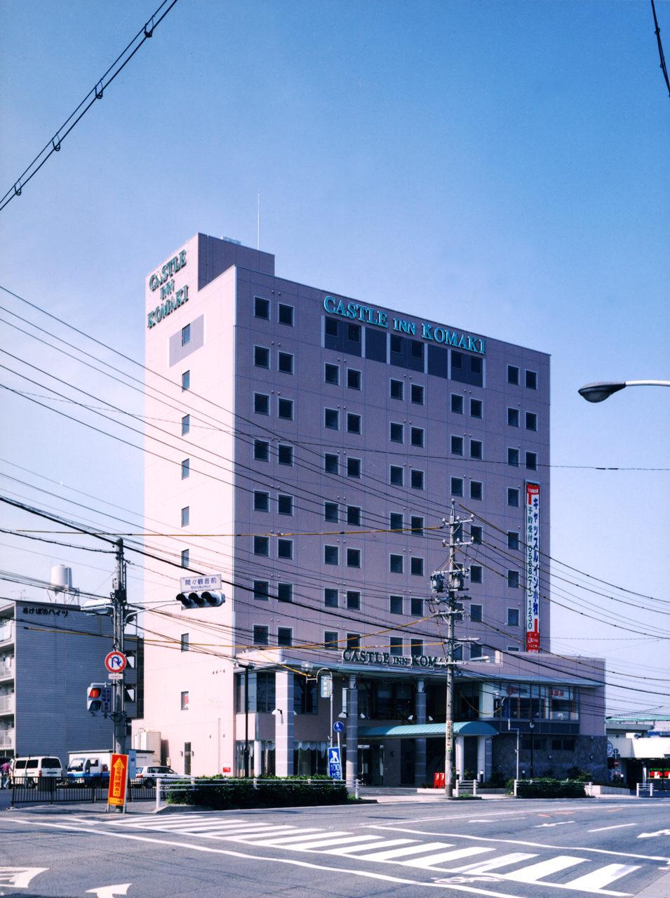 大浴場付ビジセスホテルの設計、デザイン|愛知県小牧市