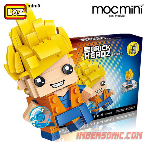 LOZ MINI BLOCK COD.1433 200PZAS