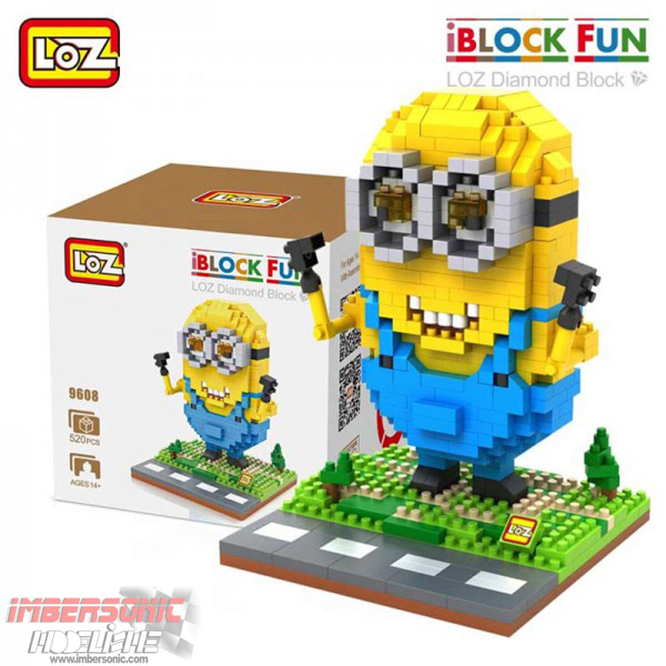 LOZ DIAMOND BLOCK CÓD.9608 520PZAS.
