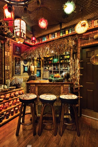 How To Outfit Your Home Tiki Bar  Imbibe Magazine
