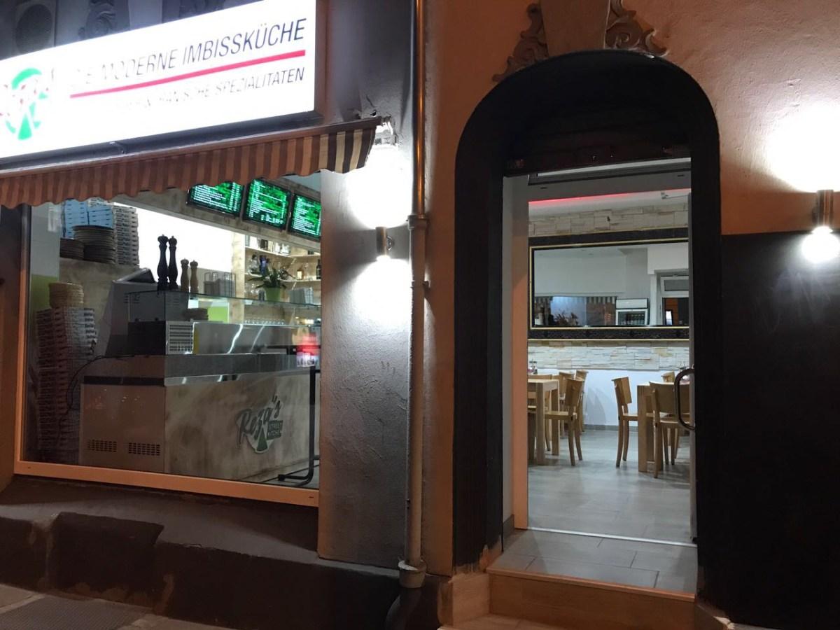 Restaurant Eingang von außen