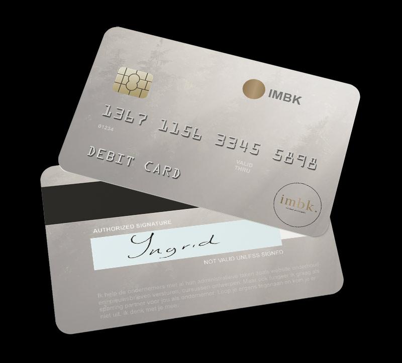 Virtual debit card IMBK virtual assitants