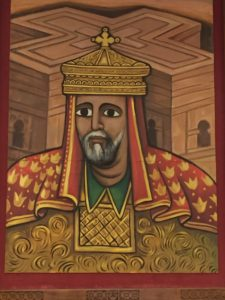 King Lalibela, the Ethiopian ruler who created the famed rock-hewn churches