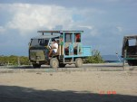 Galapagos one of the island transports