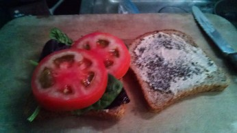 tomatoes, greens added