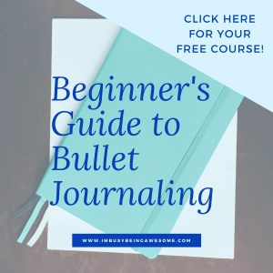 Bullet Journal Free Course