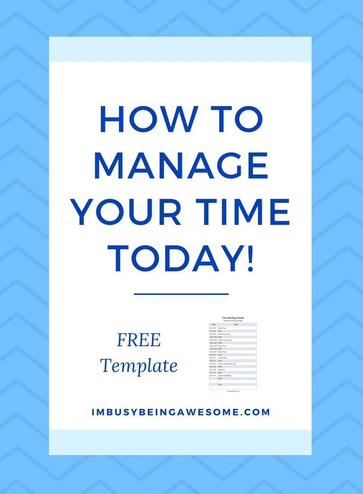 The Number One Strategy for Time Management, Time Blocking, organization, Productivity, Work Life Balance